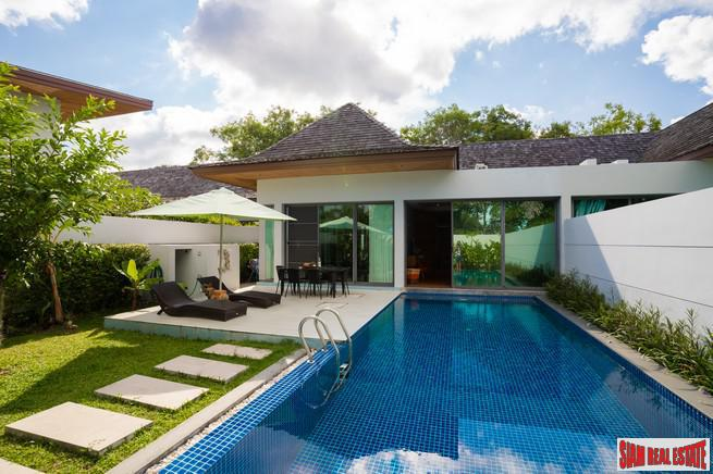 Tropical Two Bedroom Pool Villa in a Quiet Private Area of Rawai