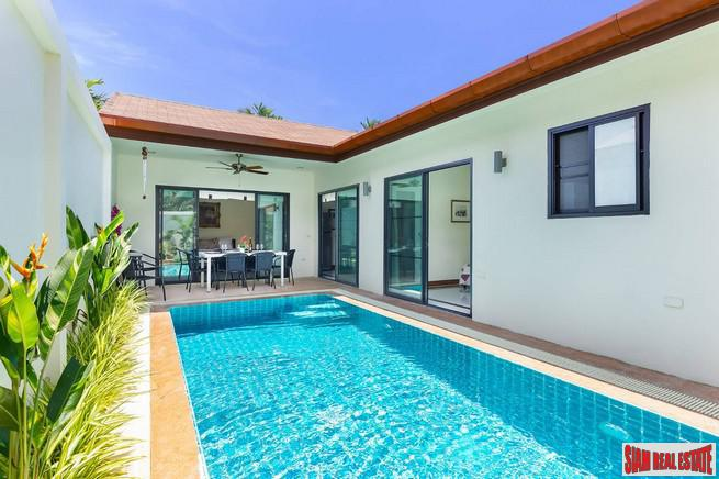 New Private Two Bedroom Pool Villa in a Popular Area of Rawai