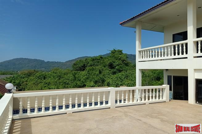 Large Two Storey Three Bedroom House with Private Swimming Pool for Rent in Rawai