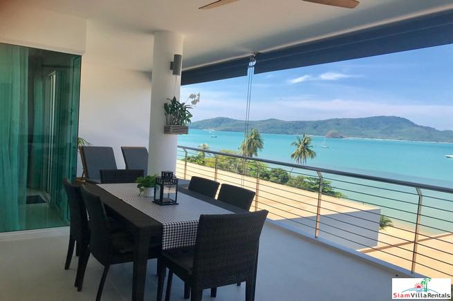 Waterside Condo Panwa | Extremely Elegant Three Bedroom Condo for Rent with Fantastic Sea Views in Ao Yon