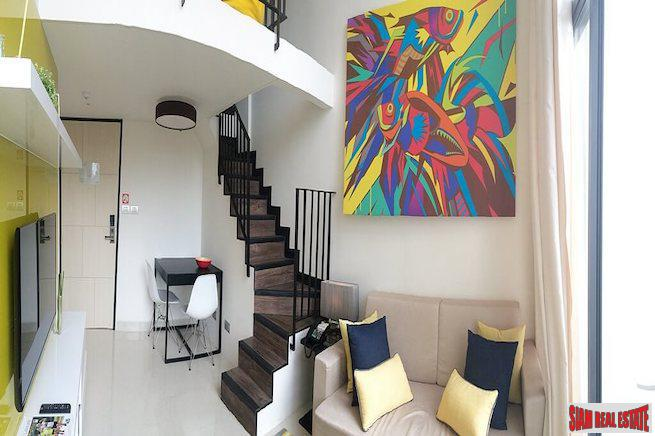 Two Storey One Bedroom Condo with Garden  Views in Laguna