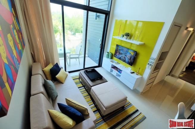 Colorful Two Storey Two Bedroom Condo for Sale in Laguna, Phuket