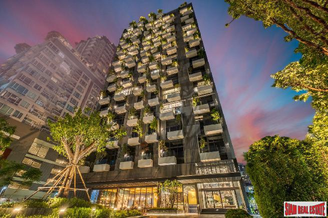 Newly Completed Luxury Green Condo with Sky Facilities at Sukhumvit 31, Phrom Phong - 1 Bed and 1 Bed Duplex Units - 10% Discount +!
