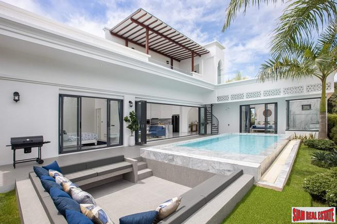 Luxury Moroccan Inspired Pools Villa Development in BangJo, Thalang