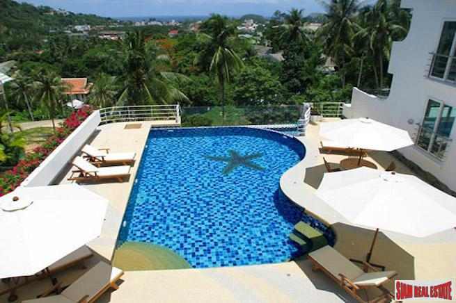 Kata Ocean View | Fantastic Seaview from this Two Bedrooms Apartment for Rent in Kata Hills