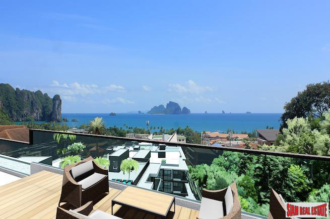 Amazing Sea Views from these New Two Bedroom Condo Development in Ao Nang
