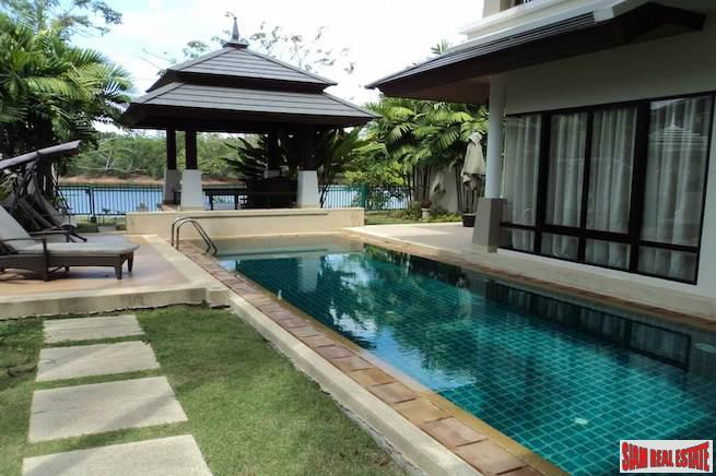 Extra Spacious Three Bedroom with Large Private Pool and Lagoon Views in Laguna