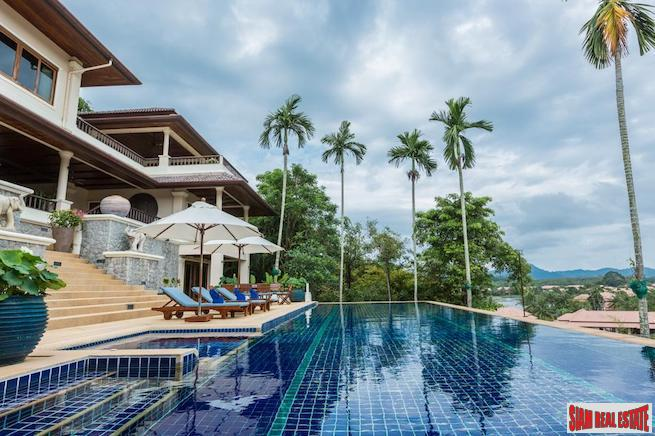 Lakewood Hills | Magnificent Six Bedroom Pool Villa with Amazing Lake and Mountain Views in Layan
