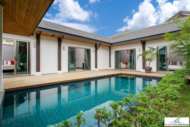 Newly renovated 3-4 bedroom Pool Villa in a Secure Estate only 2km from Nai Harn Beach