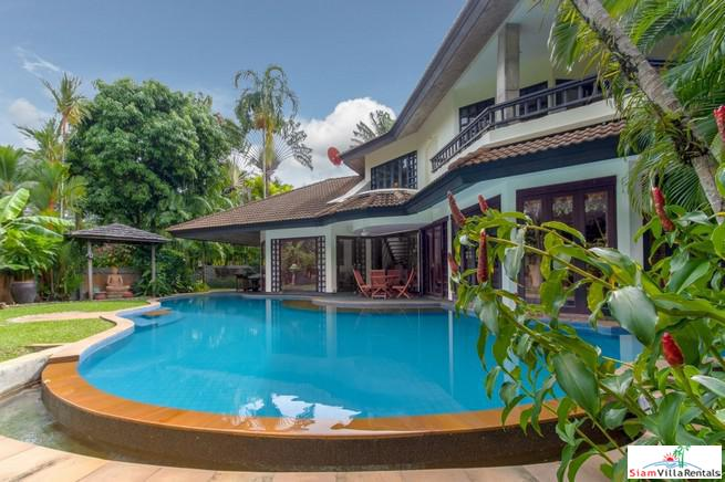 Beautiful Four Bedroom Pool Villa in Small Secured Estate near Surin Beach