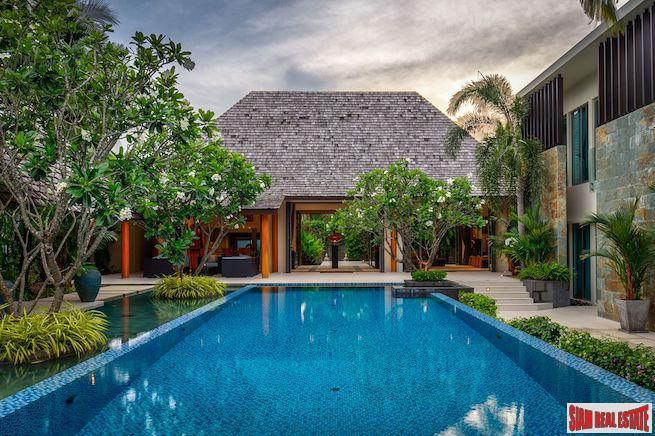 Anchan Grand Residenses | Luxury Seven Bedroom Ultra-Pool Villa for Sale in Layan