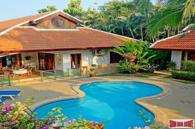 Baan Lilawadee | Beautiful Five Bedroom Pool Villa with Two Separate Buildings in Rawai