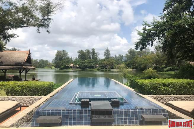 Lavish Two Bedroom Laguna Pool Villa with Peaceful Lagoon Views