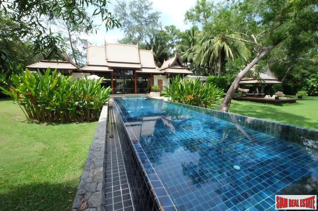 Two Bedroom Luxury Laguna Pool Villa with Extra Large Land Plot