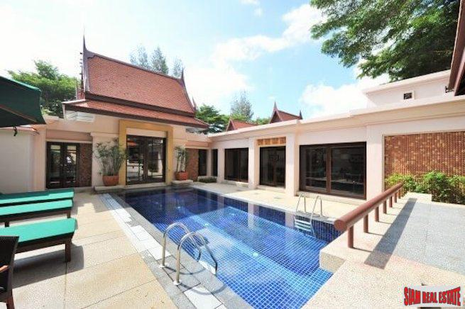 Lush Garden Views from This Luxury Two Bedroom Laguna Pool Villa