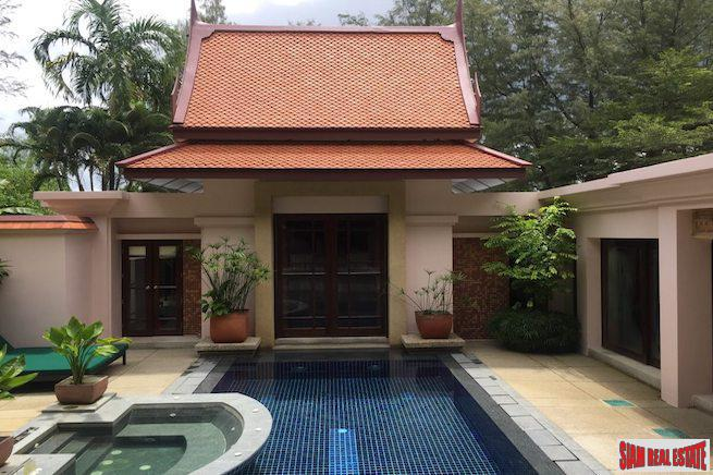 Tranquil Privacy in this Laguna Two Bedroom Pool Villa with Garden Views