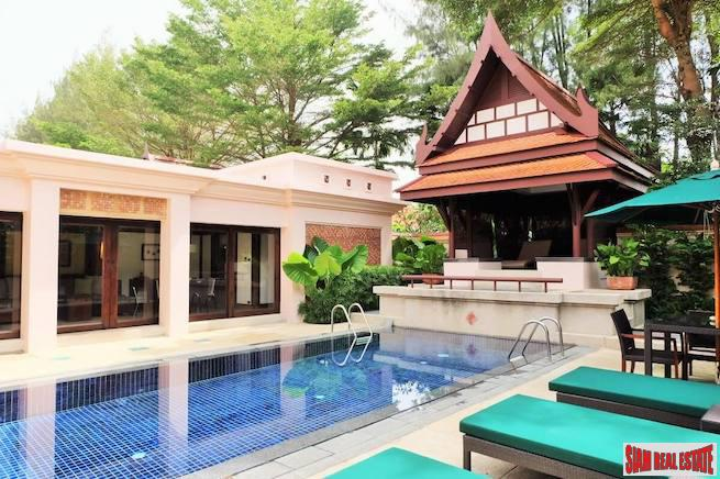 Quiet and Private Two Bedroom Laguna Pool Villa for Sale