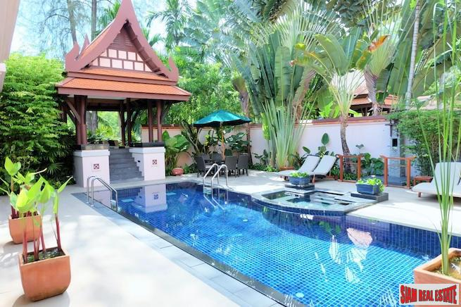 Impressive Two Bedroom Private Pool Villa For Sale in Laguna