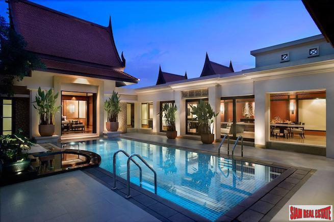 Banyan Tree Residence | Relax in Ultra Comfort in this Two Bedroom Pool Villa for Sale