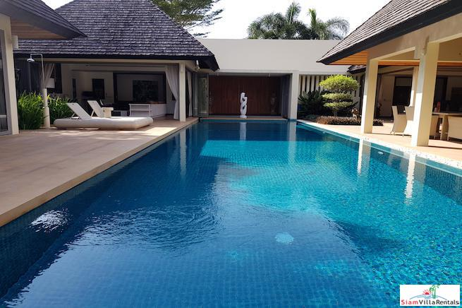 Layan Hills Estate | Four Bedroom Tropical Retreat Pool Villa for Rent in Cherng Talay