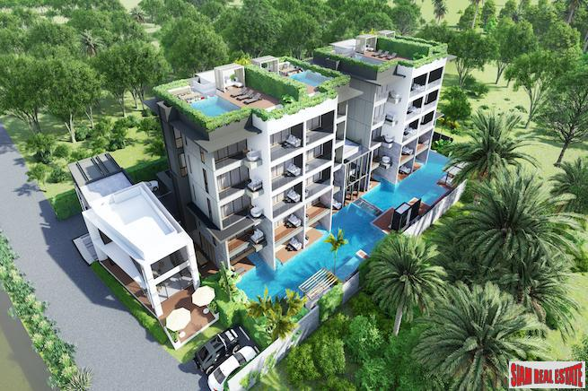 Innovative One and Two Bedroom Condominium Project only 200 Meters from Bang Tao Beach