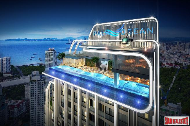 Pre-Sales of Exciting New High-Rise with Panoramic Sea Views at Pratumnak Hill - 2 Bed Loft Units