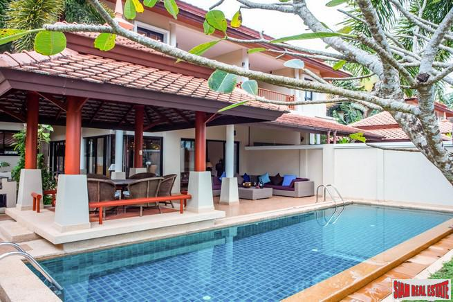 Laguna Cove | Luxury Four Bedroom Private Pool Villa for Sale  Overlooking the Lake and Golf Course in Laguna
