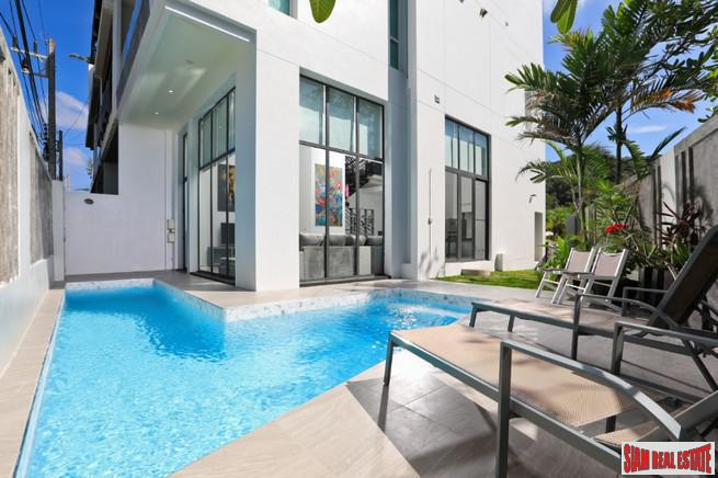 Exclusive Three Bedroom Private Pool Townhouse just steps to Kata Noi Beach
