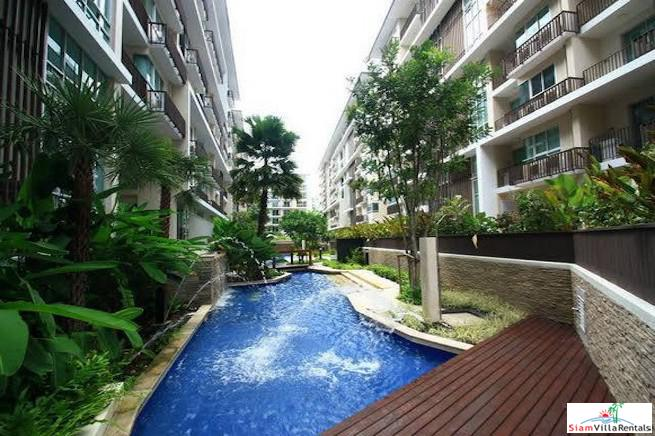 Spacious One Bedroom Condo for Rent with Pool View in Thong Lo