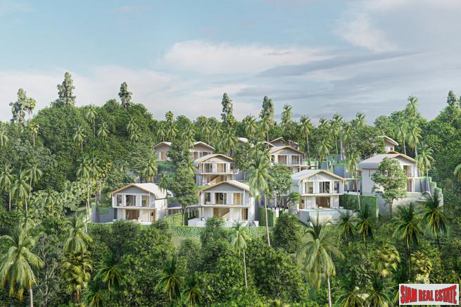 Phase 3 Luxury Private Pool Villas with Sea or Mountain Views in Kamala