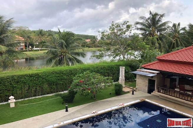 Large Five Bedroom Pool Villa for Sale with Tranquil Lagoon Views in Laguna