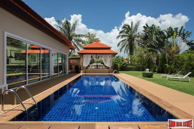 Ultra Luxurious Four Bedroom Laguna Private Pool Villa with Lagoon & Garden Views
