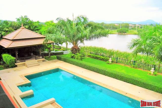 Laguna Village Residence | Abundant Greenery and Lagoon Views from this Four Bedroom Private Pool Villa