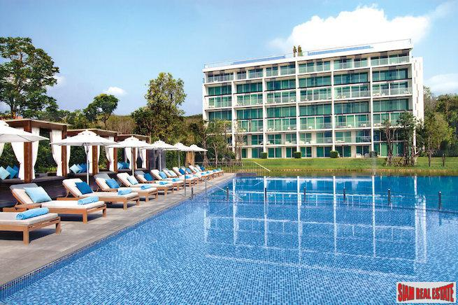 Bright and Sunny One Bedroom Condo with Pool Views for Sale in the Laguna Area of Phuket