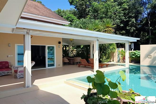 Large Thai-Style Sea View House for Rent with Private Swimming Pool in Ao Makham