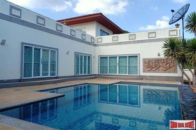 Extra Large Three Bedroom House for Sale in Chalong with Private Pool and Roof Top Terrace