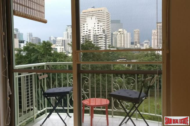 Recently Renovated Two Bedroom Condo with Two Balconies in Thong Lo