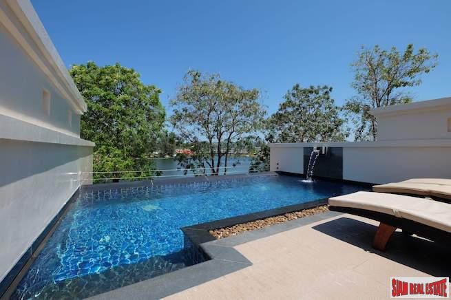 Private Rooftop Pool and Two Bedroom Villa in Laguna for Sale