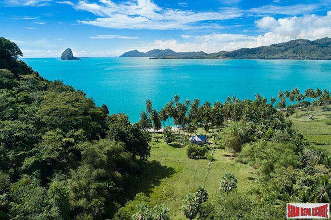 Tropical Beachfront Land Plot in the Picturesque South Koh Yao Noi