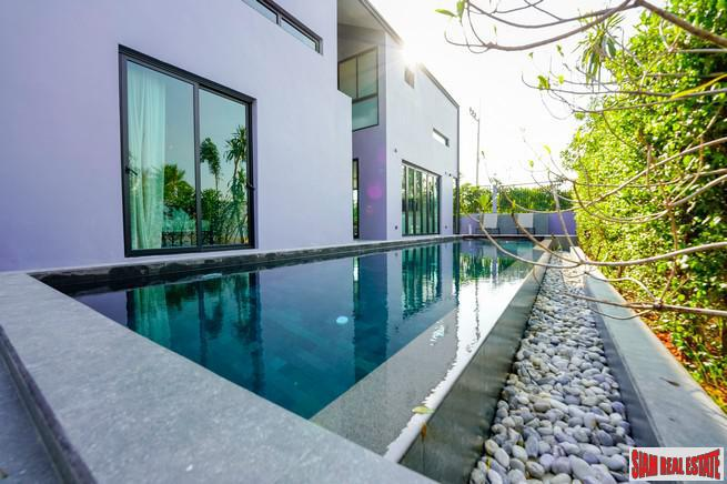 Unique Modern Loft Design Three Bedroom Villas with Private Pools in Cherng Talay