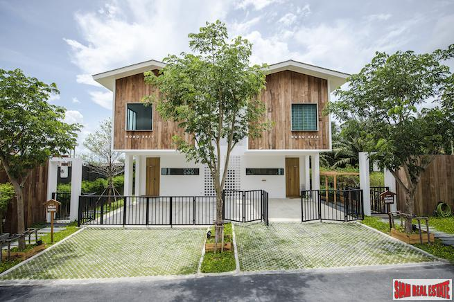 New Japanese Loft Home Development in a Popular Area of Koh Kaew