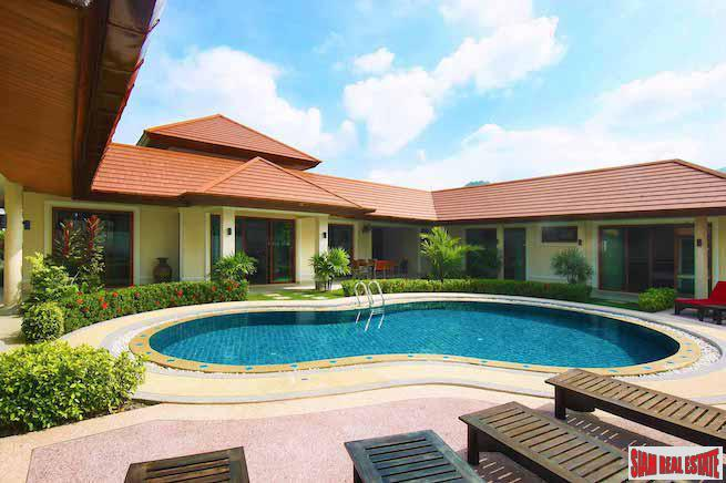 Cherng'Lay Villas and Condos | Private Four Bedroom Pool Villa with Tropical Gardens for Sale in Cherng Talay