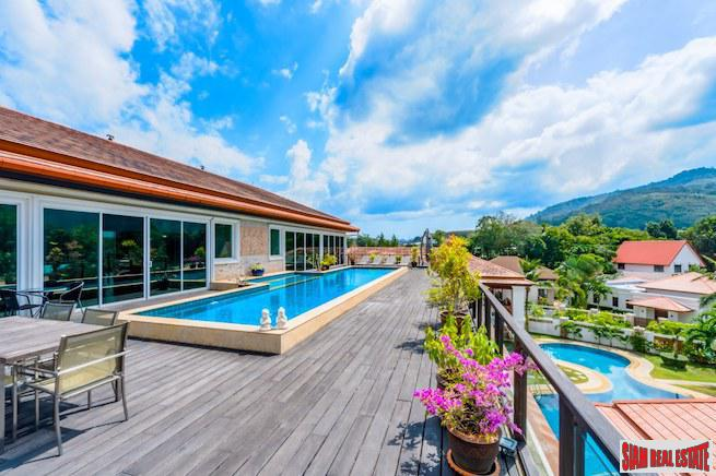 Unique Three Bedroom Penthouse with Private Pool in Low-rise Cherng Talay Condominium