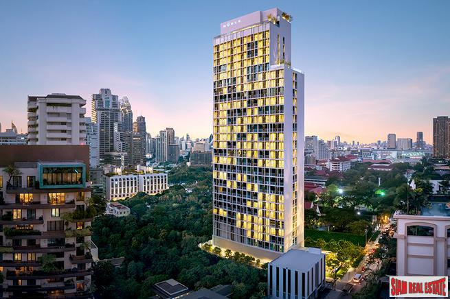Newly Completed High-Rise at Sukhumvit 19, Central Asoke - 2 Bed Units - Only 6 Units Left - 20% Discount and Free Furniture!