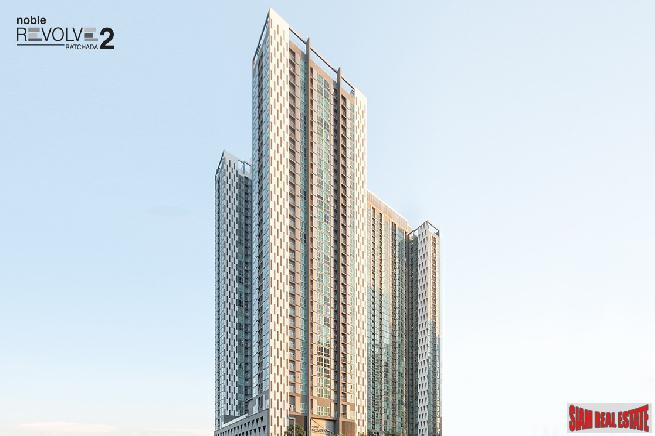 Newly Completed High-Rise Condo at Ratchada, MRT Thailand Cultural Centre - 20% Discount on Last 2 Units!