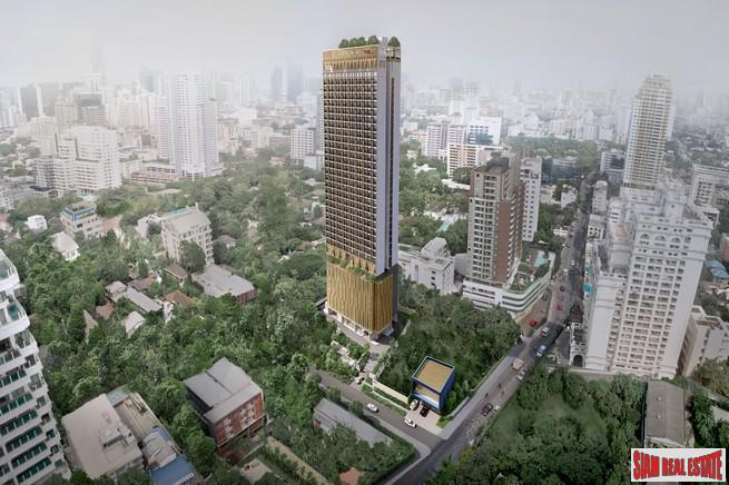 New Off-Plan Luxury High-Rise Condo at Sukhumvit 39, Phrom Phong - One Bed Units