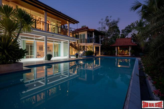 Paradise Heights Yamu | Cape Yamu Five Bedroom Pool Villa for Sale with Amazing Andaman Sea Views