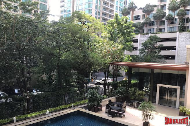 Large Three Bedroom Condo with Private Terrace for Sale in Chidlom