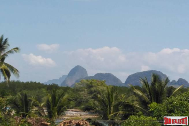 Scenic Phang Nga Bay Views from this 4 Rai Land Plot
