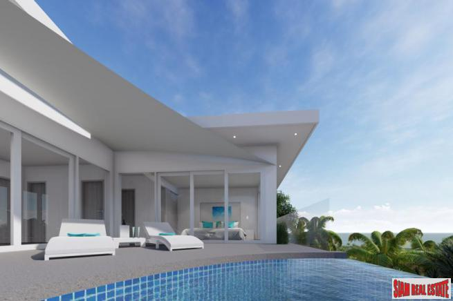 New 3 Bedroom Pool Villas, Sea View - Bo Phut, Koh Samui
